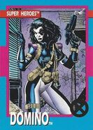 Neena Thurman (Earth-616) from X-Men (Trading Cards) 1992 Set 0001