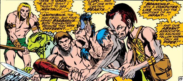 File:Savage Land Mutates (Earth-616) from X-Men Vol 1 62 0001.jpg