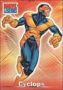 Scott Summers (Earth-616) from Marvel Legends (Trading Cards) 0003