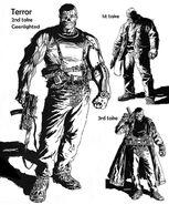 Terror new concept sketches