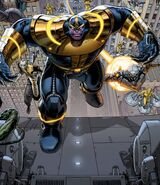 Thanos (Earth-616) from Avengers Vol 5 27 cover