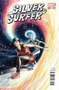 Silver Surfer Vol 8 1 Rudy Variant