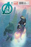 Avengers Vol 5 2 Ribic Variant
