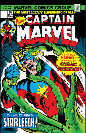 Captain Marvel Vol 1 40