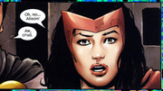 Marvel Zombies Vs. Army of Darkness Vol 1 5 page 4 Wanda Maximoff (Earth-2149)