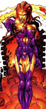 Ayesha (Earth-616) from Fantastic Four Vol 3 11 001
