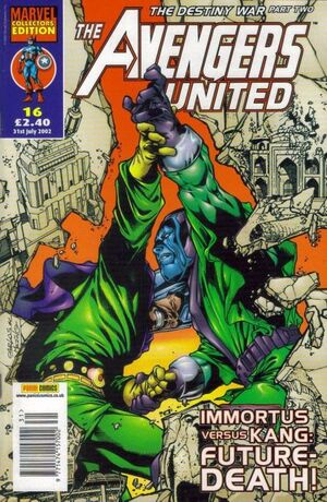 Avengers United Vol 1 16
