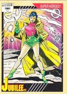 Jubilation Lee (Earth-616) from Marvel Universe Cards Series II 0001