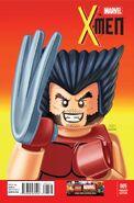 X-Men Vol 4 5 LEGO Variant