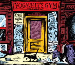 Fogwell's Gym from Daredevil Vol 1 1 001
