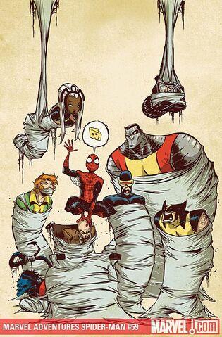 File:Marvel Adventures Spider-Man Vol 1 59 Textless.jpg