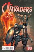 All-New Invaders Vol 1 2 Larroca Variant