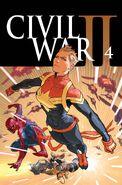 Civil War II Vol 1 4 Textless
