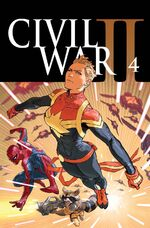 Civil War II Vol 1 4 Textless