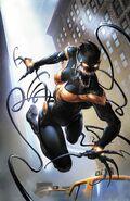 Mighty Captain Marvel Vol 1 3 Venomized Variant Textless