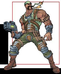 Bernard Hoyster (Earth-616) from Deadpool Corps Rank and Foul Vol 1 1 001