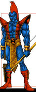 Yondu Udonta (Earth-691) from Official Handbook of the Marvel Universe A-Z Update Vol 1 3 0001