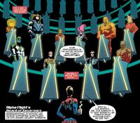 Alpha Flight's Board of Governors (Earth-616) from Captain Marvel Vol 9 6 001
