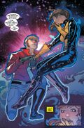 Peter Quill (Earth-616) and Katherine Pryde (Earth-616) from Guardians of the Galaxy & X-Men Black Vortex Omega Vol 1 1 001