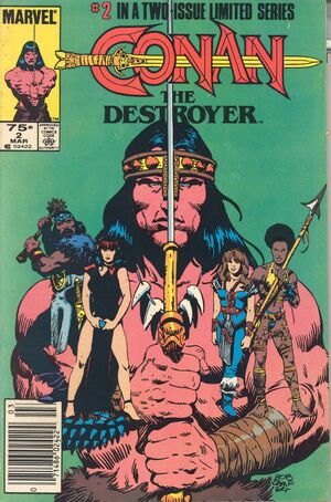 Conan the Destroyer Movie Special Vol 1 2