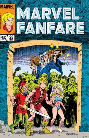 Marvel Fanfare Vol 1 25