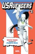 U.S.Avengers Vol 1 1 Puerto Rico Variant
