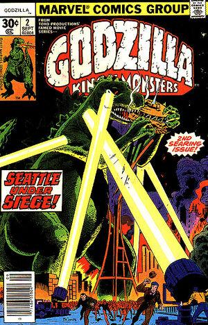 Godzilla Vol 1 2