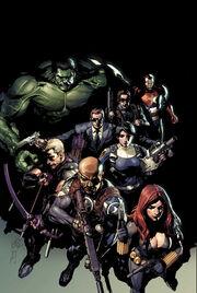 Secret Avengers Vol 2 1 Yu Variant Textless