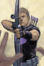 Civil War II Vol 1 3 Hawkeye Variant Textless