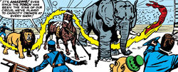 Bones 'n Bailey Circus from Fantastic Four Vol 1 15 0001