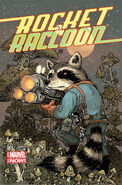 Rocket Raccoon Vol 2 1 Petersen Variant