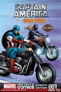 Captain America Featuring Road Force Infinite Comic Vol 1 1