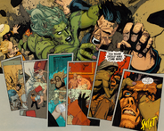 Elizabeth Ross (Earth-1610) James Howlett (Earth-1610) Ultimate Wolverine vs. Hulk Vol 1 6 02