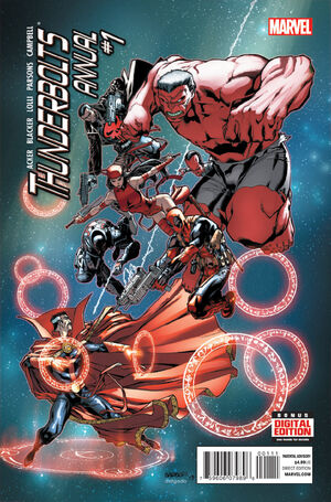 Thunderbolts Annual Vol 2 1