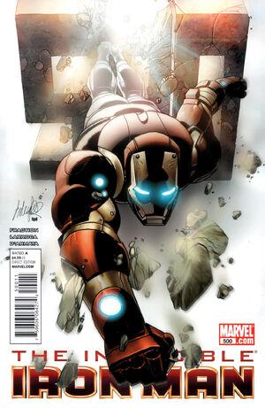 Invincible Iron Man Vol 1 500