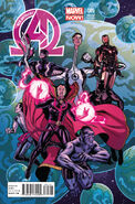 New Avengers Vol 3 5 Quinones Variant