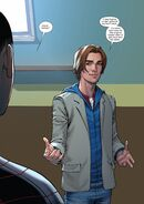Peter Parker (Earth-1610) from Miles Morales Ultimate Spider-Man Vol 1 1 001