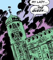 Tower of London from Avengers West Coast Vol 1 53