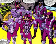 Wizard's Warriors (Earth-982) from Fantastic Five Vol 1 2 001