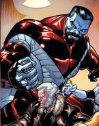 Piotr Rasputin (Earth-616) from Extraordinary X-Men Vol 1 8 Classic Variant cover