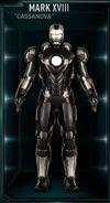Iron Man Armor MK XVIII (Earth-199999)