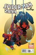 Spider-Man 2099 Vol 2 1 Hastings Variant