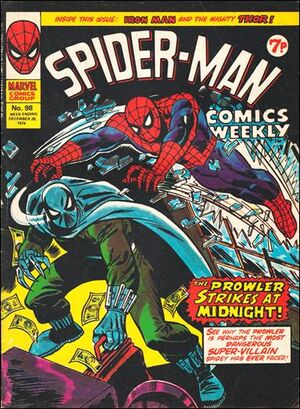 Spider-Man Comics Weekly Vol 1 98