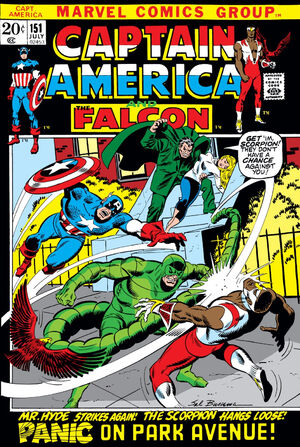 Captain America Vol 1 151