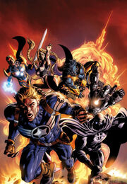 Secret Avengers Vol 1 2 Variant Textless