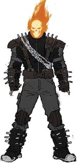Daniel Ketch (Earth-15513)'s Design from Ghost Racers Vol 1 2