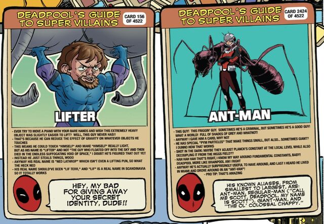 File:Ned Lathrop (Earth-616) and Scott Lang (Earth-616) on Deadpool's Guide to Super Villains Cards from Unbeatable Squirrel Girl Vol 2 13.jpg