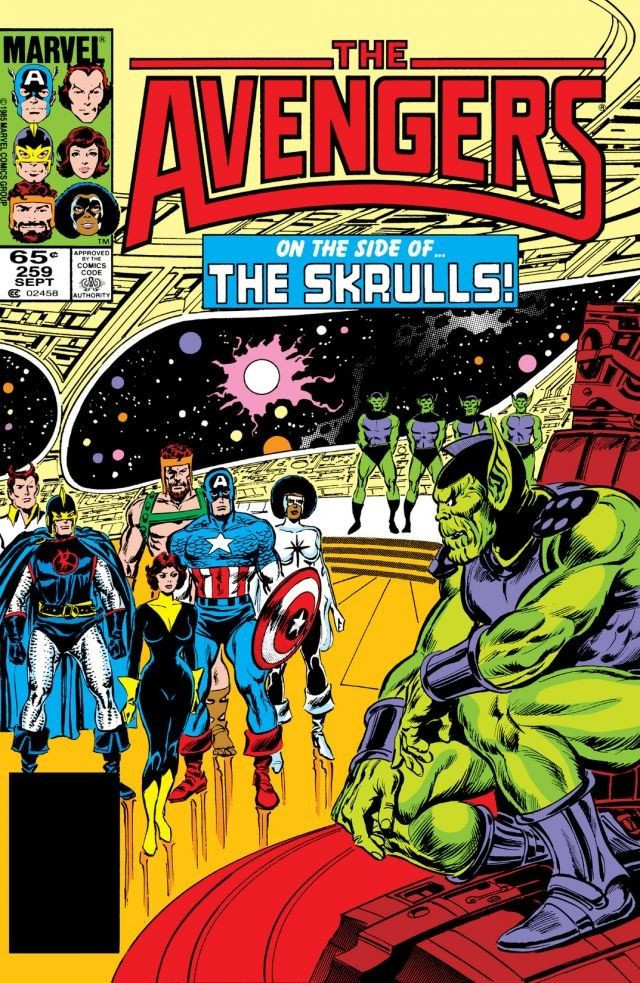 Avengers #259