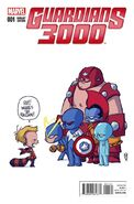 Guardians 3000 Vol 1 1 Young Baby Variant