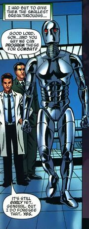 Robotic Soldier, Victor von Doom (Earth-616) from Books of Doom Vol 1 2